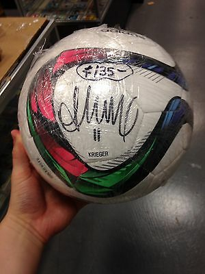 Ali Krieger USA World Cup Soccer Ball Signed