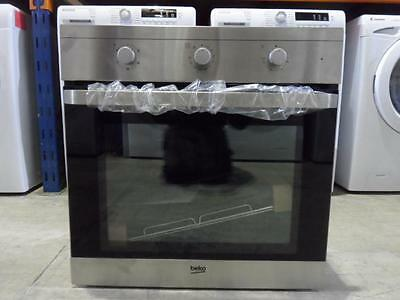 Beko OIF22100X Integrated Built In Electric Single Fan Oven Stainless Steel PWI