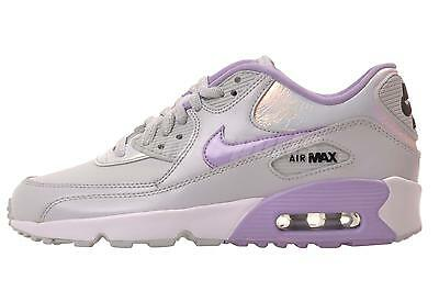 Nike Air Max 90 SE LTR GS Running Kids Shoes Youth Womens Lilac 859633-002