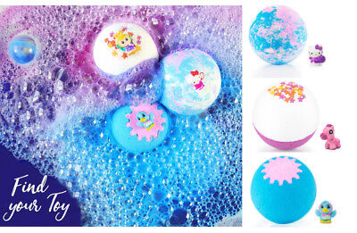 Imperial Candles Children's Kids Bath Bomb Toy Mermaid Unicorn Stardust Various