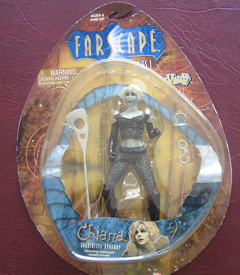 "Farscape 7"" Chiana Anarchistic Runaway Figure NEW Factory Sealed Toy Vault"