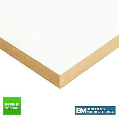 White Faced MDF - Melamine MDF Board conti board White MDF Sheets - 15mm 18mm