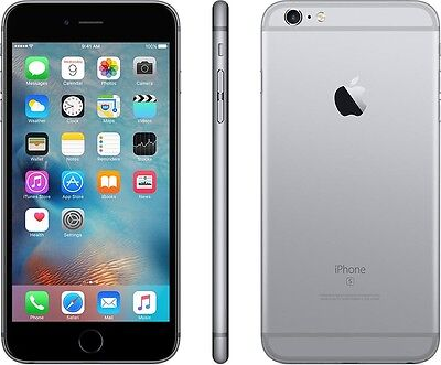 New Apple iPhone 6s Plus 128GB AT&T Locked Space Gray Smartphone