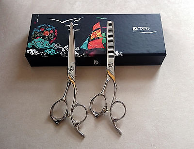 Titan 1918 PROFESSIONAL Hair Scissors - Handmade Superior Japanese ATS-314 Steel