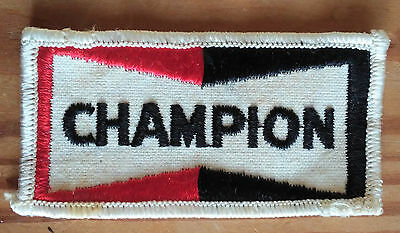 VINTAGE CHAMPION Embroidered Sew On Patch