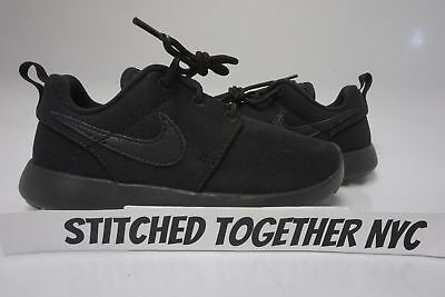 8db2a47fcf84 749427-031) PRE-SCHOOL KID S Nike Roshe One Black black black ...
