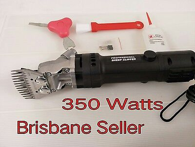 350W Electric Sheep Shearing Supplies Goats Clipper Shear Shears Alpaca Farm