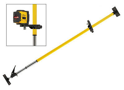 STABILA LT30 Telescopic Adjustable Self Leveling Laser Mounting Support Bar Pole