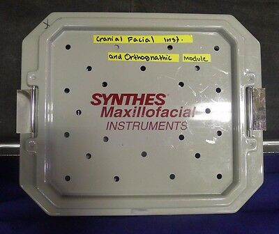 Synthes Maxillofacial Instruments Set USED