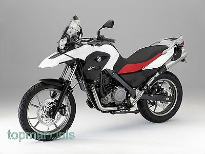 Bmw G 650 Gs Workshop Service Manual G650Gs On Dvd