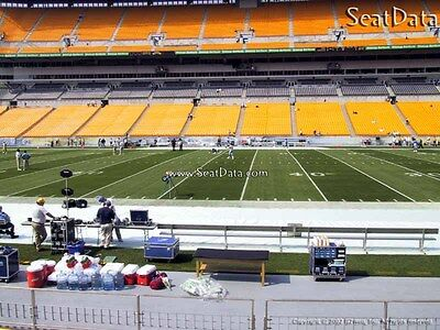 (2) Steelers vs Bengals Tickets Lower Level 50 Yard Line!!