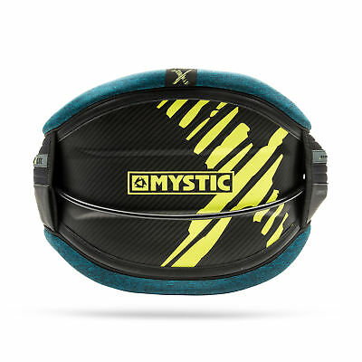 Mystic MAJESTIC X CARBON Kitesurf Harness 2017 - Teal