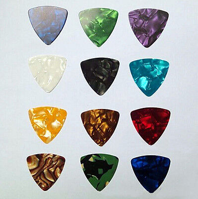 1000pcs Lot OneThousand Celluloid Triangle Acoustic Electric Guitar Picks 0.46mm