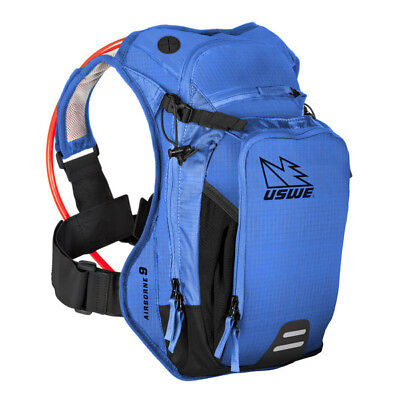 Uswe - Airborne-9L (Race Blue) - 3Ltr Hydration & 6Ltr Cargo With New Elite Blad