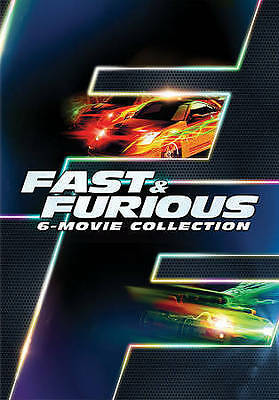 Fast & Furious 6-Movie Collection DVD