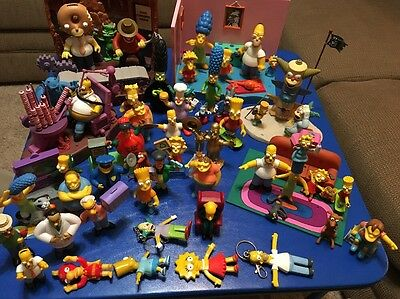 Simpsons Figure Lot Complete Collection Set Treehouse Of Horror Movie