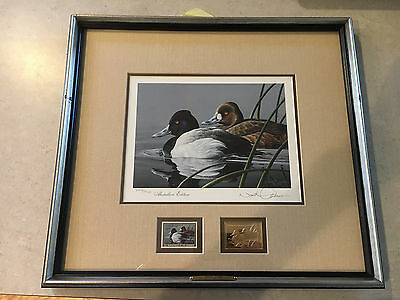 1989 Federal Duck Stamp Print Medallion Edition Neal R. Anderson Signed