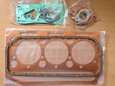 MASSEY FERGUSON ENGINE TOP GASKET SET  A3-152 3 Cylinder Diesel MF35 + Dexta