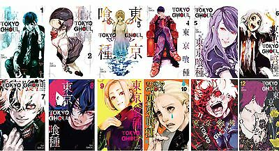 Tokyo Ghoul MANGA Series Collection Set Books 1-12 Paperback By Sui Ishida New!