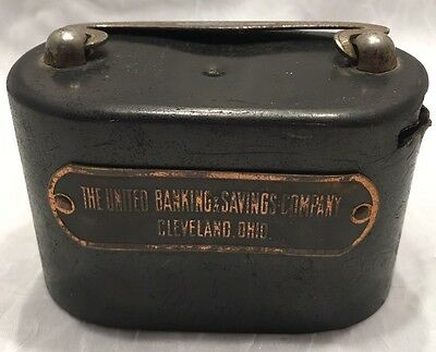 Atq W.F. Burns Co The United Banking & Savings Co Cleveland Oh Promo Bank-Estate