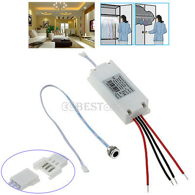 IR MOTION Smart SENSOR ON/OFF SWITCH TOUCHLESS FOR Kitchen Cabinet Light Doors
