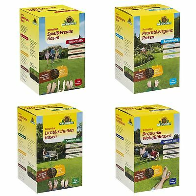 Neudorff - terravital Lawn Seed Various Types - 3 Kg For 100 m ² Lawn