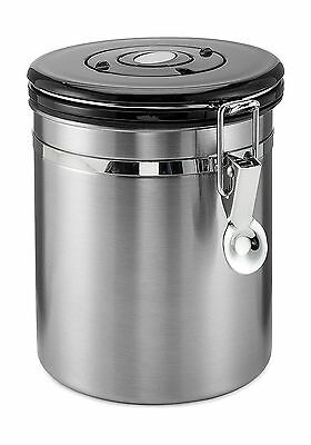Coffee Container Airtight - Coffee Vault - by Mixpresso (16 Ounces Stainl... New