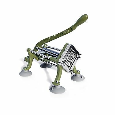 New Star 42313 Commercial Grade French Fry Cutter with Suction Feet 1/2-I... New
