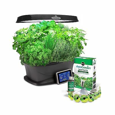 Miracle-Gro AeroGarden Bounty with Gourmet Herb Seed Pod Kit New