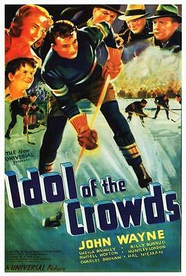 Idol of the Crowds Movie POSTER 11 x 17 John Wayne, Sheila Bromley, USA, NEW