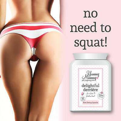 Yummy Mummy Post Pregnancy Care Bum Toning Tablets Lifts & Tightens Bum