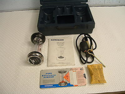 Bacharach Fyrite Gas Analyser Model 10-5003 CO2 and O2 Indicators