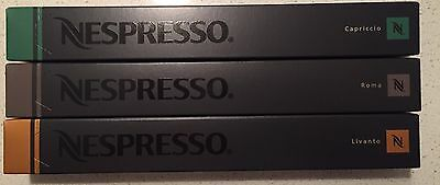 30 Capsules Nespresso Coffee Popular Starter Pack Mixed Pod