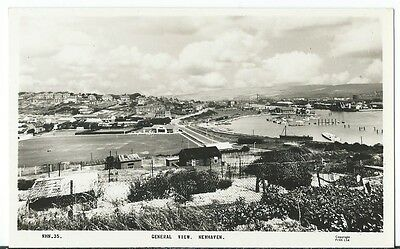 Newhaven Nr Lewes General View Harbour Sports Field RP by Frith #NHN.35 Unused