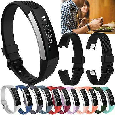 Silicone Wristband Strap Bracelet Replacement  Band for Fitbit Alta HR S/L Size