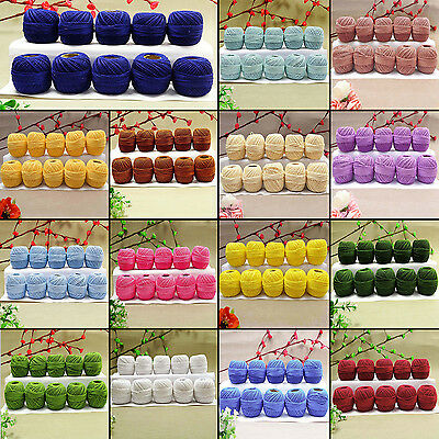 Anchor Crochet polyester Knitting Tatting Ball Embroidery Yarn Thread Size 8