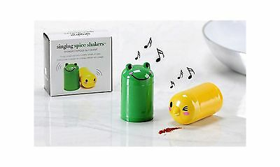 Singing Spice Shakers New