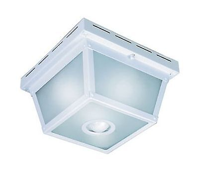 Heath/Zenith Five Sided Motion Security Light - White New