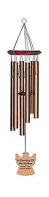 Chimesofyourlife mo-angel-27-bronze Mother Angel Memorial Wind Chime 27-I... New