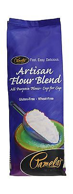 Pamela's Wheat and Gluten Free Baking Mixes-Artisan Flour Blend 680G New