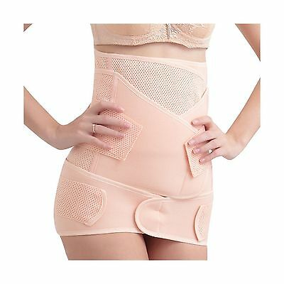 3 in 1 Postpartum Girdle Recovery Belly Band/waist/pelvis Belt Shapewear ... New