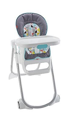 Fisher-Price 4-in-1 Total Clean High Chair - Geometric New