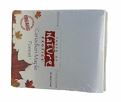 Taste of Nature Organic EXOTICS Fruit and Nut Bars Canadian Maple Forest ... New