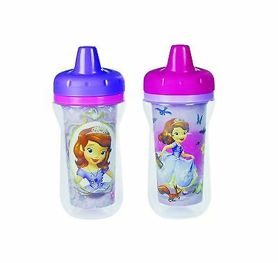 The First Years Disney Junior Sofia The First Insulated Sippy Cup 2 Count New