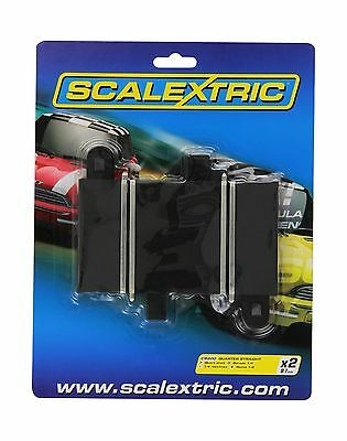 Hornby Scalextric C8200 Track Quarter Straight 3.25 inches New