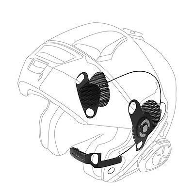 Interphone AUDIO KIT - Shoei helmet Bluetooth,quality music & GPS Directions