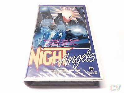Night Angels Beta Movie Betamax Cel Rated M Cassette Tape Delta Video ~ Not VHS