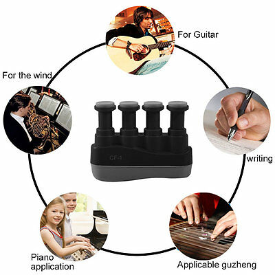 Excellent Music instrument Hand and Finger Exerciser Tension Hand Grip Trainer D