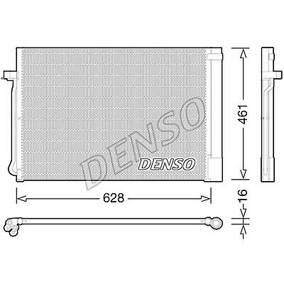 DENSO Air Conditioning Condenser - DCN05013 - A/C Car / Van / Engine Parts