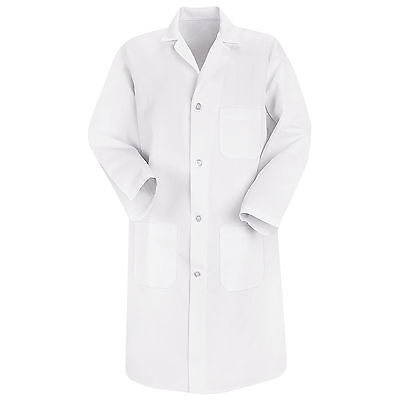 Red Kap Mens Lab Coat - Medium - White